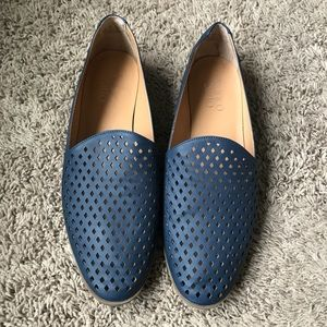 [Franco Sarto] Blue Frontier 2 Loafers- Perforated